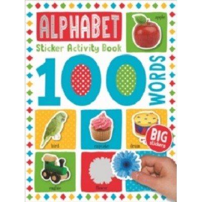 100 Words Sticker Activity Book: Alphabet