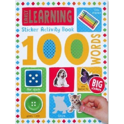 100 Words Sticker Activity Book: Early Learning