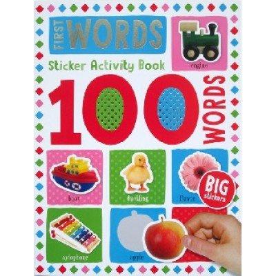 100 Words Sticker Activity Book: First Words