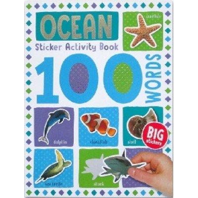 100 Words Sticker Activity Book: Ocean