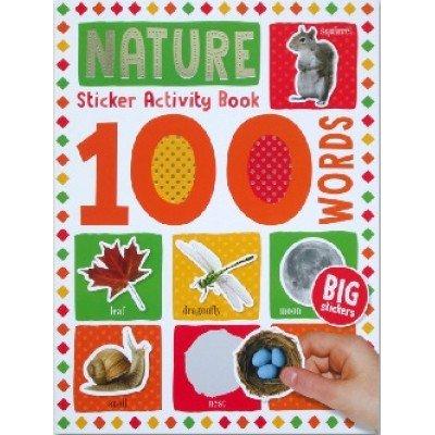 100 Words Sticker Activity Book: Nature